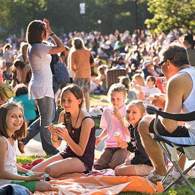 Picnic on the Lawn