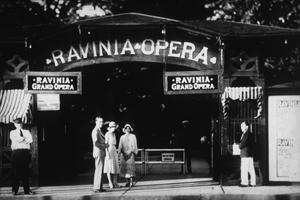 ravinia's opera gate